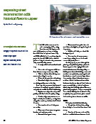 City of Lapeer - Nepessing Street - MI-APWA Great Lakes Report Fall 2005